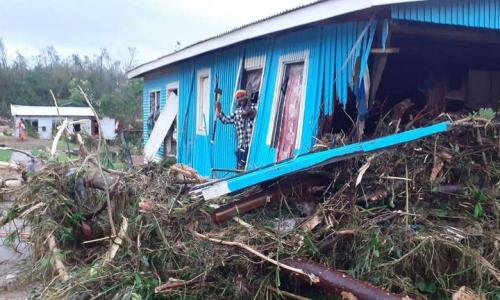 Cyclone-devastated Fiji village opts to rebuild elsewhere article image