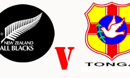 All Blacks v Tonga show image