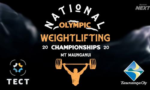 National NZ Olympic Weightlifting  Championships show image