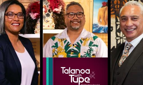 Talanoa with Tupe: Election Special show image