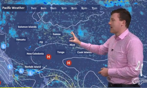 Pacific Metservice Weather  show image