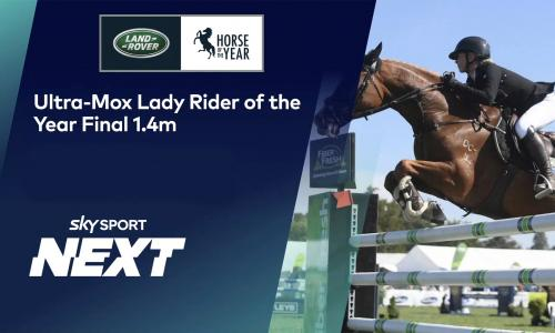 Horse of the Year Lady Rider show image