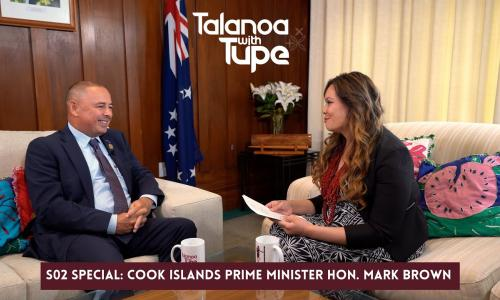 Talanoa with Tupe: Cook Islands Prime Minister Hon. Mark Brown show image