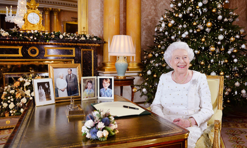 Queens Christmas Message show image